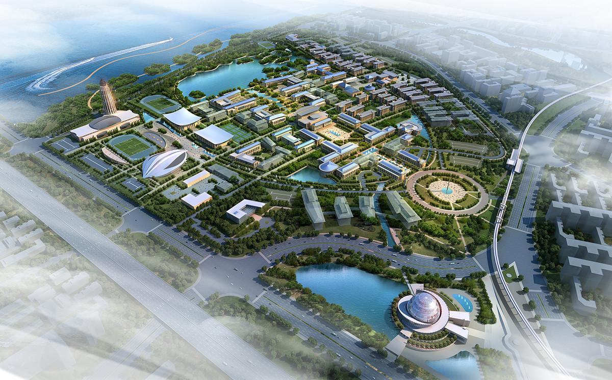 Dalian Oceanic University Master Plan