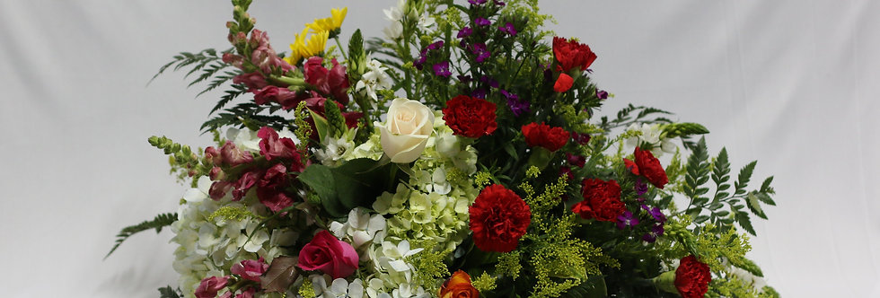 M 04 /Arreglo primaveral con rosas clavel