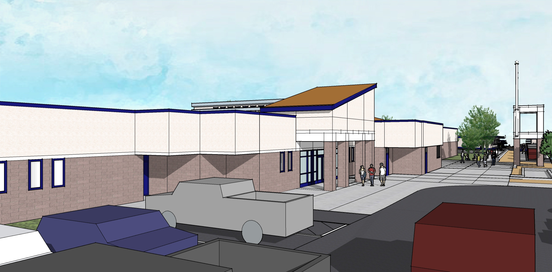 Additions and Renovations, Serrano High School