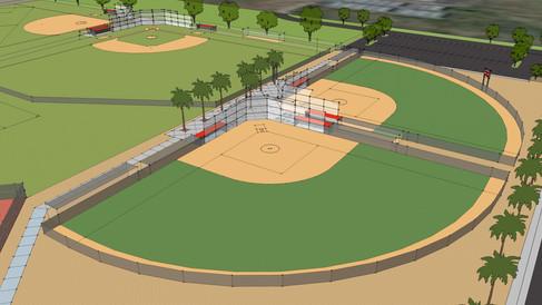 Softball Fields, Valley View High School