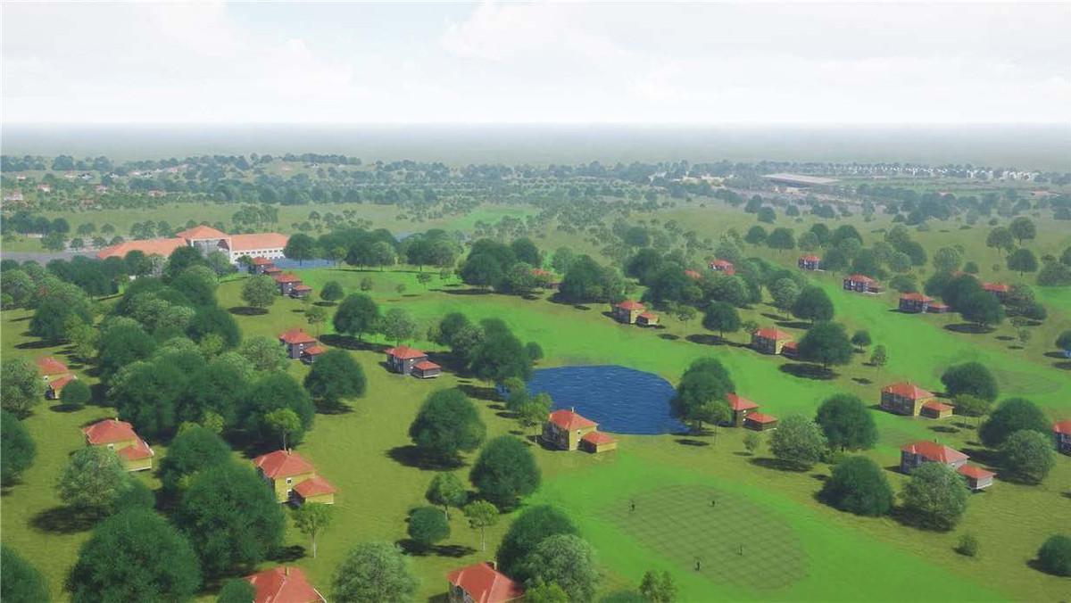 Oke Ako Resort_03_aerial Golf Residences