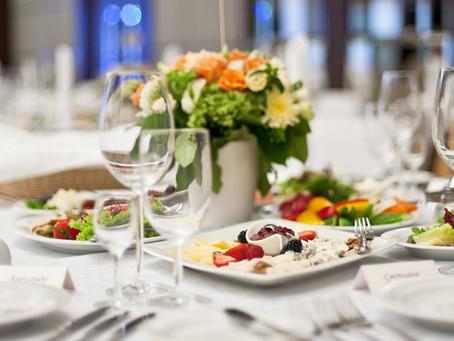 20 вопросов при выборе Банкетного зала  на свадьбу