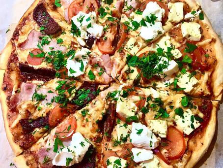 Рецепт пиццы 🍕 дома в духовке