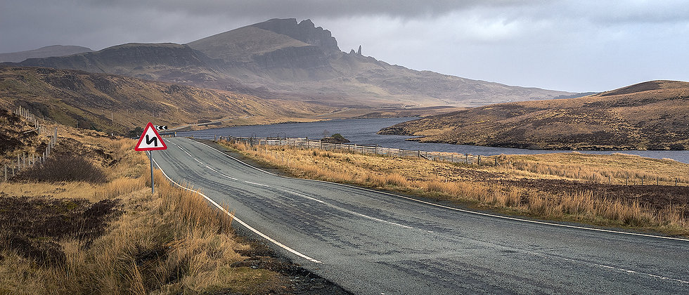 Road to The Storr