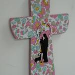 Croix liberty Vierge Bergère, 15€