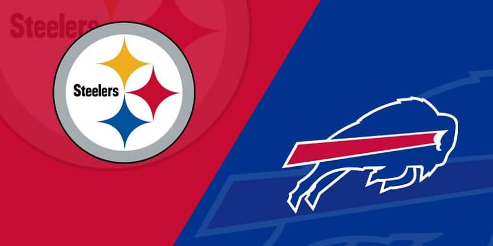 Buffalo Bills Vs. Steelers Sunday Sept 12th 11am