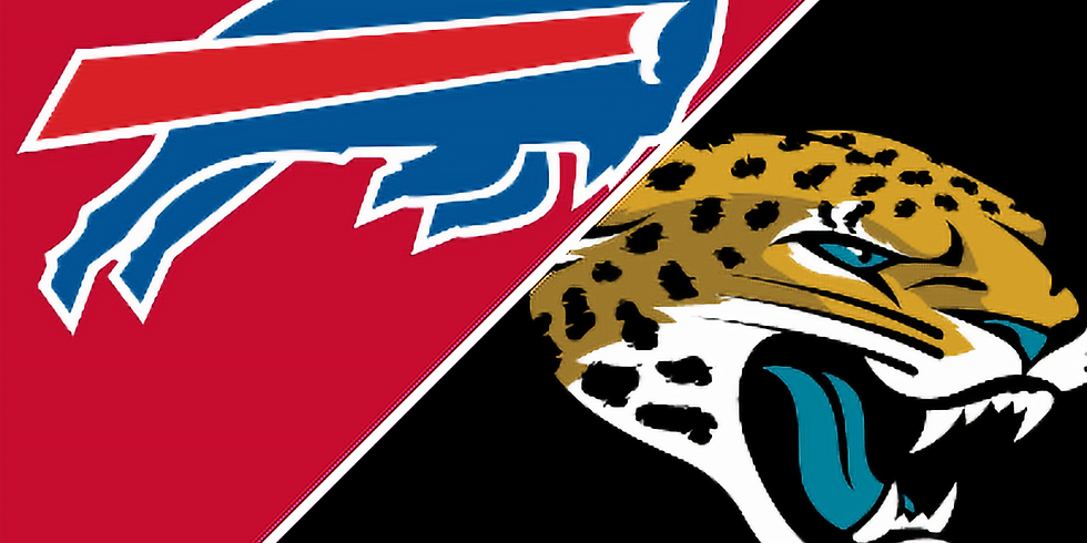 Buffalo Bills Vs. Jaguars  Sunday 11/7 11am