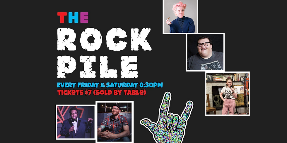 ROCKPILE Stand Up Comedy Friday June 11th 8:30