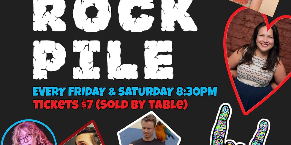 ROCKPILE Stand Up Saturday July 10th Andy Iwancio