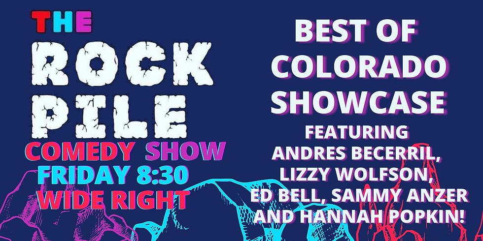 ROCKPILE Comedy: Best of Colorado Showcase