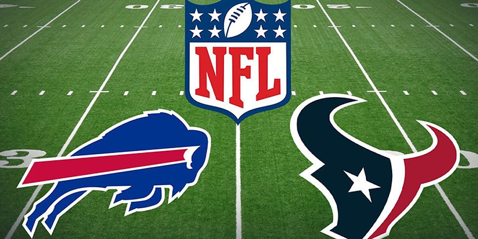 Buffalo Bills Vs. Texans Sunday October 3rd 11am