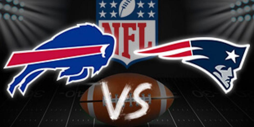 MNF: Buffalo Bills Vs. PATRIOTS Dec 6th 6pm