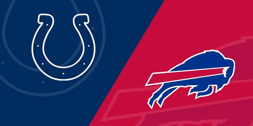 Buffalo Bills Vs. Colts Sunday 11/21 11am