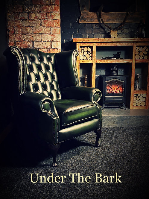 Traditional Leather Mess Chair