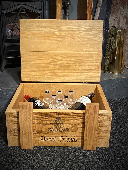 The Personalised Military Port Box