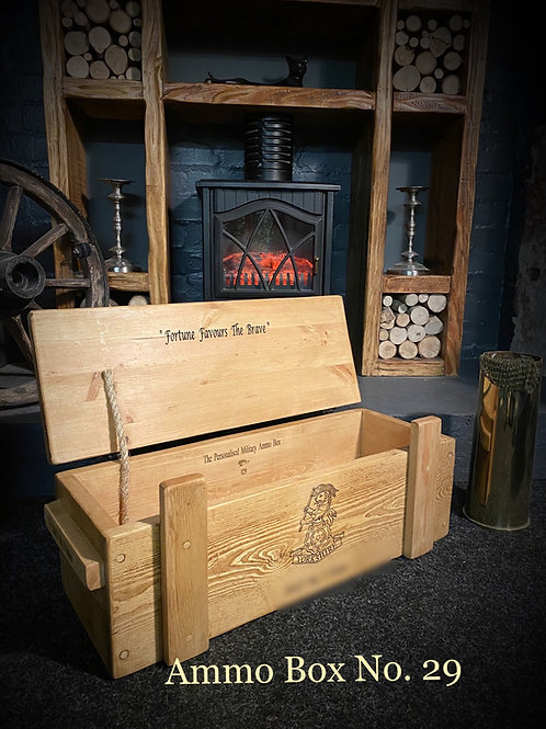 The Personalised Military Ammo Box