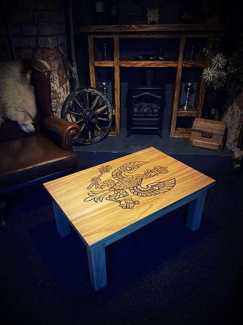 Personalised Military Coffee / Bar Table