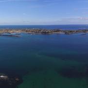 23. vue panoramique sur l'île de Batz