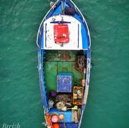 7. Vieux bateau vu d'en haut