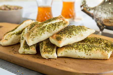 Something Baked's Zaater Labneh Fatayer