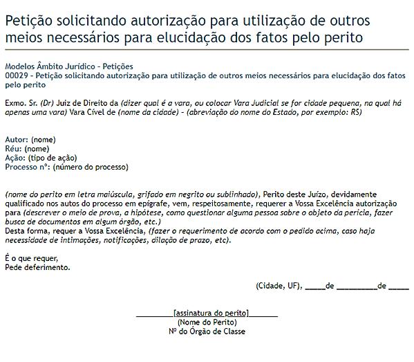 modelo de petição 5