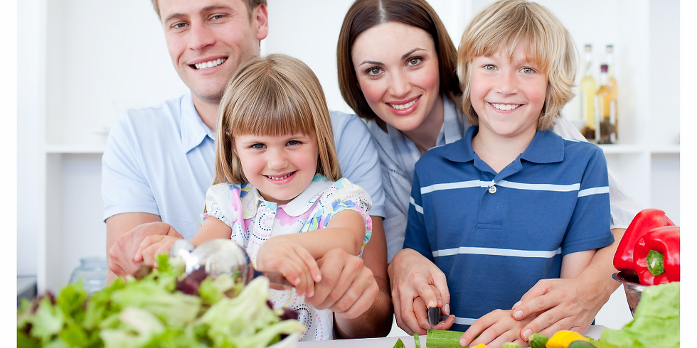 Holistic Nutrition & Meal Preps for Kids & Teens (Live lesson and cooking)