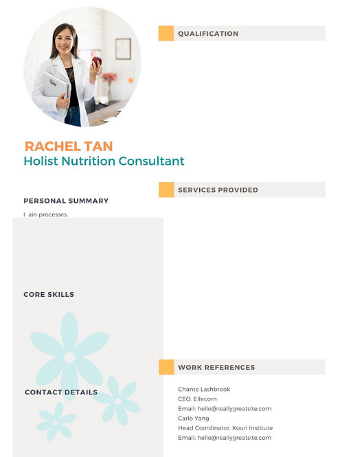 Practitioner's Profile package