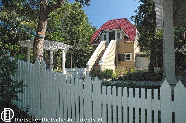 Storybook retirement cottage designed by Dietsche + Dietsche Architects PC