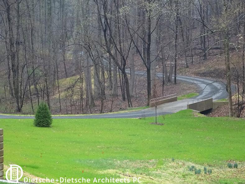 Residential siting in rural landscape by Dietsche + Dietsche