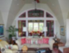 Interior arched window  Dietsche + Dietsche