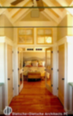 Heart pine flooring Dietsche + Dietsche Architects