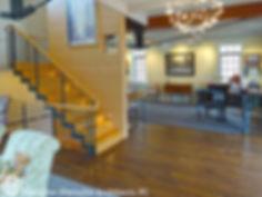 Contemporary staircase Dietsche + Dietsche