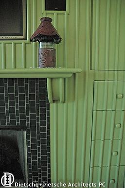 Brick pattern for mantel Dietsche + Dietsche Architects PC