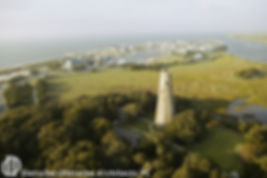 The planning project included the restoration of Old Baldy, the oldest lighthouse in North Carolina