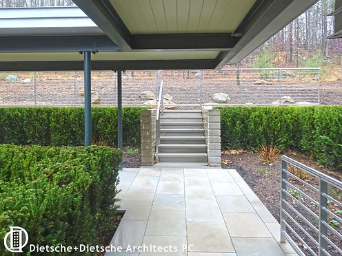 covered walkway Dietsche + Dietsche