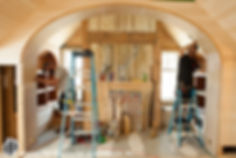 carpenters shape of interior woodwork