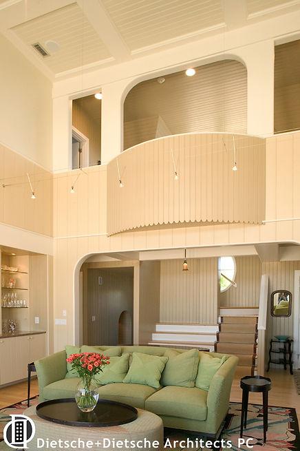 Contemporary interior hallway  Dietsche + Dietsche