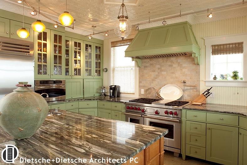 Contempirary country kitchen by Dietsche + Dietsche