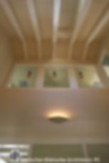 Ceiling detail  Dietsche + Dietsche