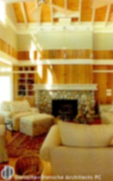 Natural wood native stone Dietsche + Dietsche Architects