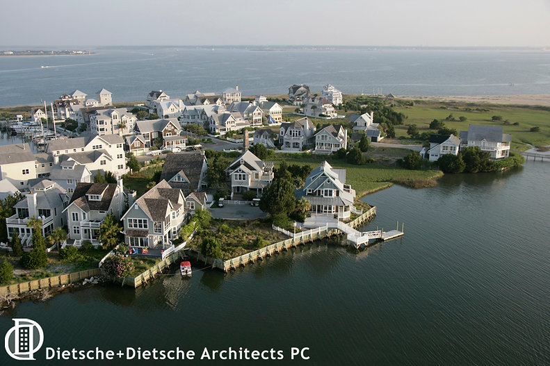 Harbour Village, Bald Head Island, North Carolina, Chuck Dietsche Planner