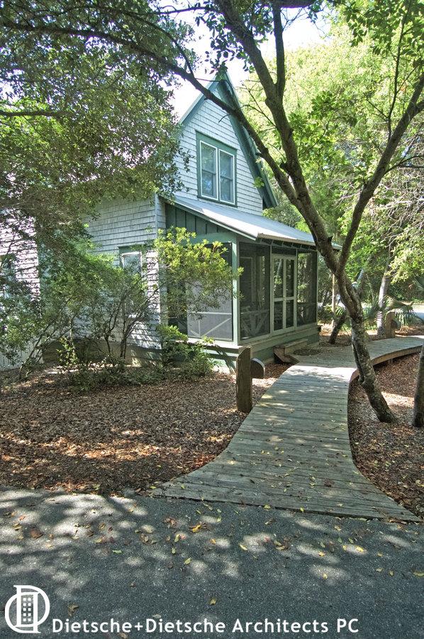 Vacation cottage at Surfman's Walk Baldhead Island North Carolina