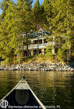 . Cottage on a Lake welcomes guests who have traded their car for a canoe.