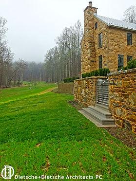 Contemporary stone farm house  Dietsche + Dietsche