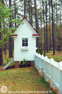 picturesque utility shed