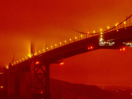 California Wildfires' Effect on Bay Area Air Quality