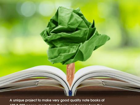 Project Greenify X Samarpana Notebooks