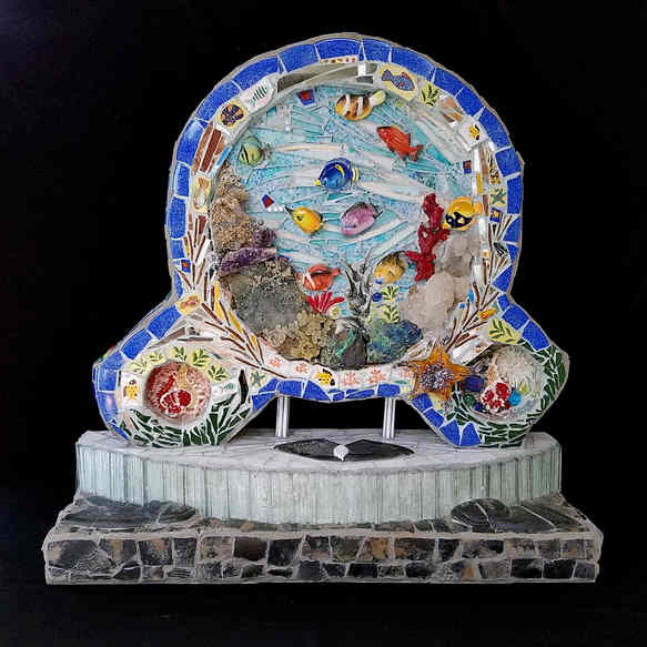 """""""Under the Sea"""" (Front side) - $4,850.00"""
