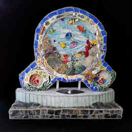 """Under the Sea"" (Front side) - $4,850.00"