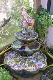 """""""Spring in the Forest"""" Water Fountain (Not for Sale)"""
